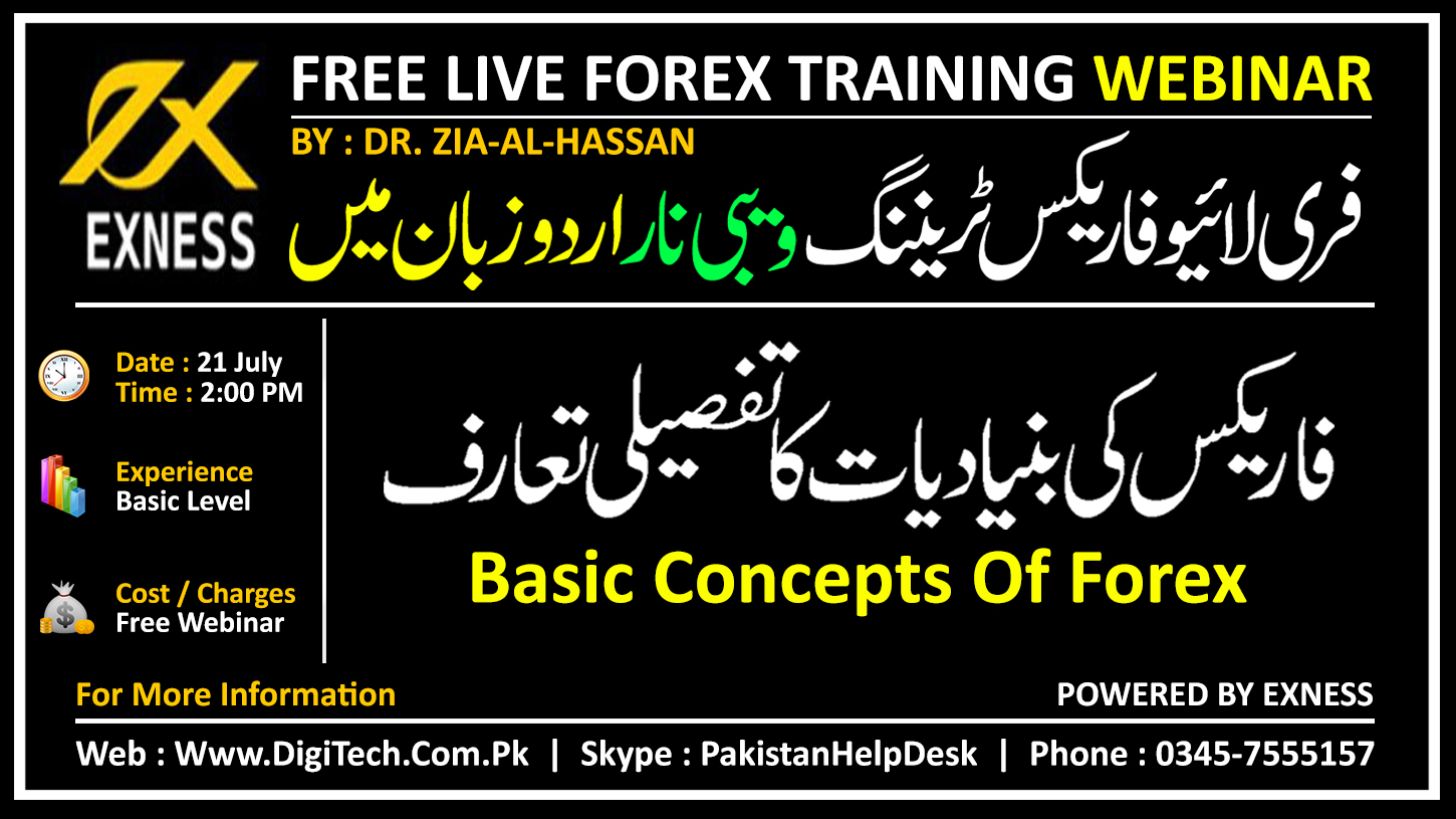 Free Forex Webinar In Urdu Stan By Exness On Basic Concepts Of Part 1